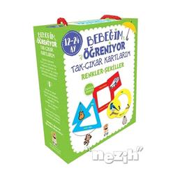 Bebeğim Öğreniyor - Tak Çıkar Kartlarım Renkler Şekiller (12 - 24 Ay) - Thumbnail