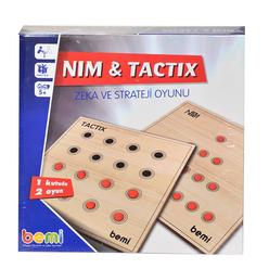 Bemi Nim Tactix Ahşap Tabla Ve Boncuklar 1475 - Thumbnail