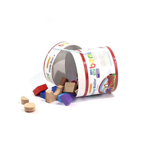Bemi Toys Ahşap Bloklar 39 Parça 1048