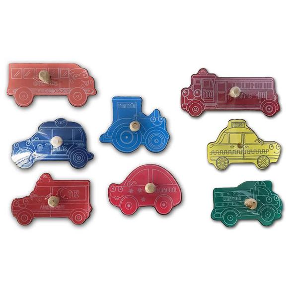 Bemi Toys Ahşap Puzzle Araçlar 1215
