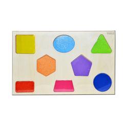 Bemi Toys Ahşap Puzzle Geometrik Şekiller 1482 - Thumbnail