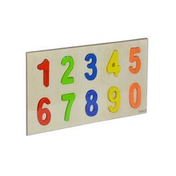 Bemi Toys Ahşap Puzzle Rakamlar 1130 - Thumbnail