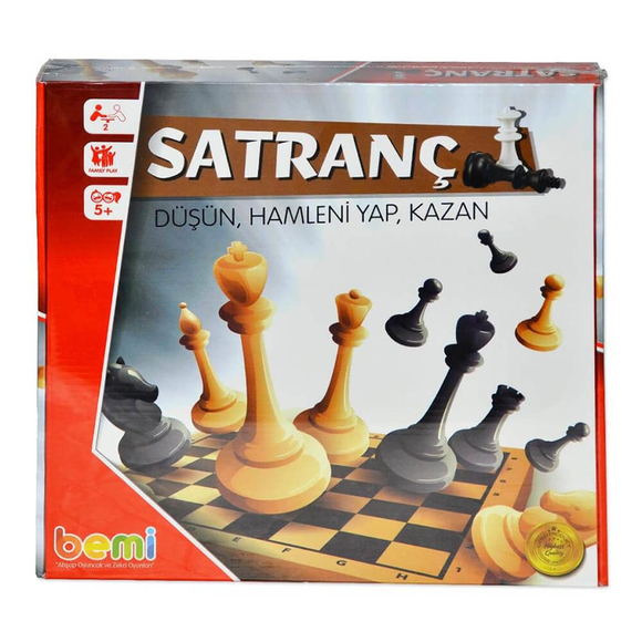 Bemi Toys Satranç Takımı Gold 1376
