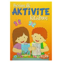 Benim İlk Aktivite Kitabım - Turuncu Kitap - Thumbnail