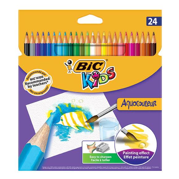 Bic Kids Aquacouleur Kuru Sulu Boya 24 Renk 8575633