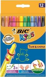 Bic Kids Çevirmeli Pastel Boya 12 Renk 880508 - Thumbnail