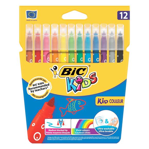 Bic Kids Couler Keçeli Boya Kalemi 12 Renk 920293