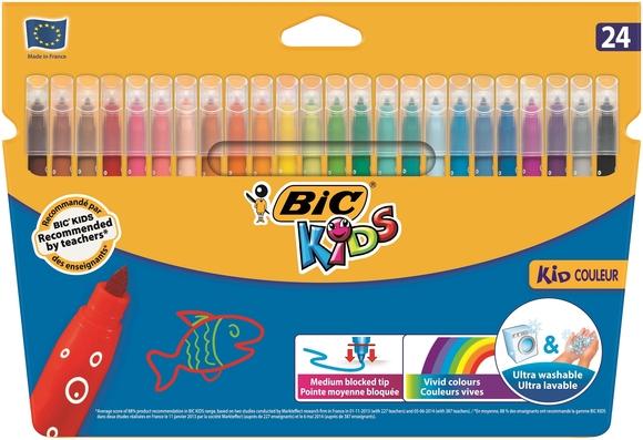 Bic Kids Couleur Keçeli Boya Kalemi 24 Renk 841800