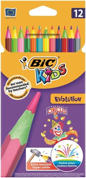 Bic Kids Evolution Circus Kuru Boya Kalemi 12 Renk 895789
