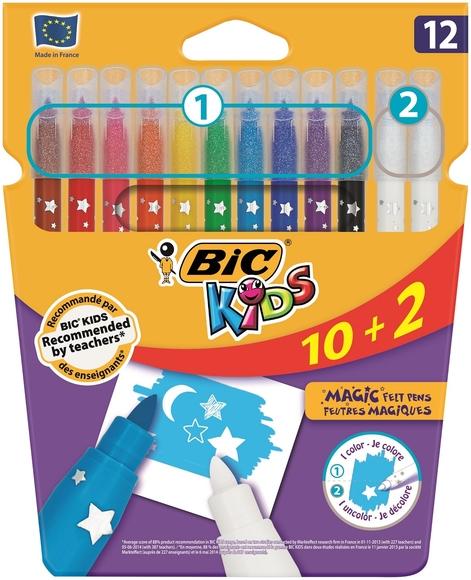 Bic Kids Magic Silinebilir Keçeli Kalem 10+2 Renk 920295