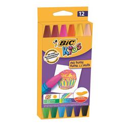 Bic Kids Oil Pastel Boya 12 Renk 926446 - Thumbnail
