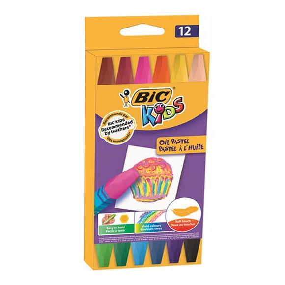 Bic Kids Oil Pastel Boya 12 Renk 926446