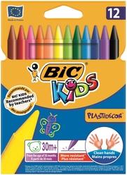 Bic Kids Plastidecor Silinebilir Pastel Boya 12 Renk 920299 - Thumbnail
