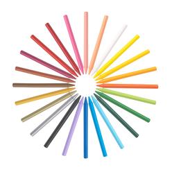 Bic Kids Plastidecor Silinebilir Pastel Boya 24 Renk 829772 - Thumbnail
