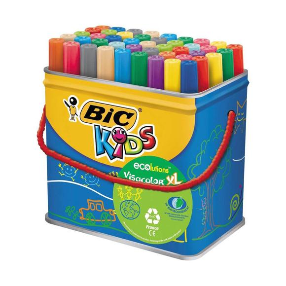 Bic Kids Visacolor XL Keçeli Boya Kalemi 48'li