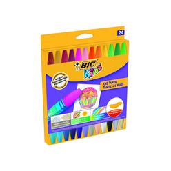 Bic Kids Yağlı Pastel Boya 24 Renk 926447 - Thumbnail
