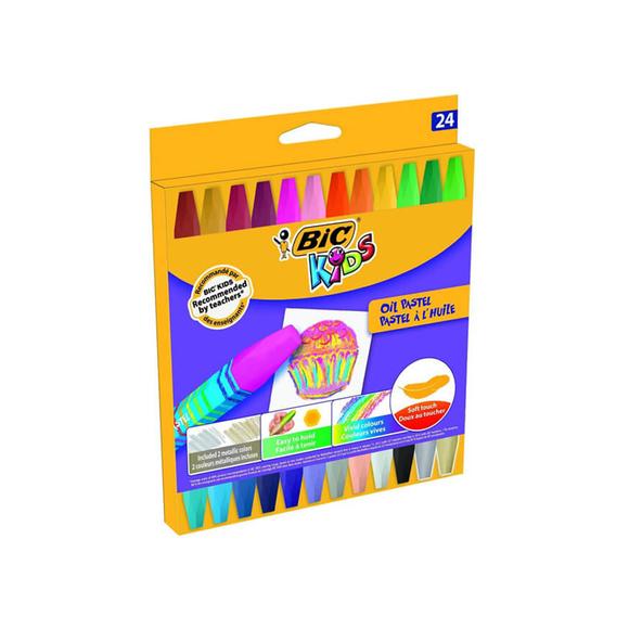 Bic Kids Yağlı Pastel Boya 24 Renk 926447