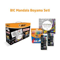 Bic Mandala Boyama Seti 21 Parça - Thumbnail