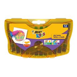 Bic Yağlı Pastel Boya 12 Renk 933957 - Thumbnail