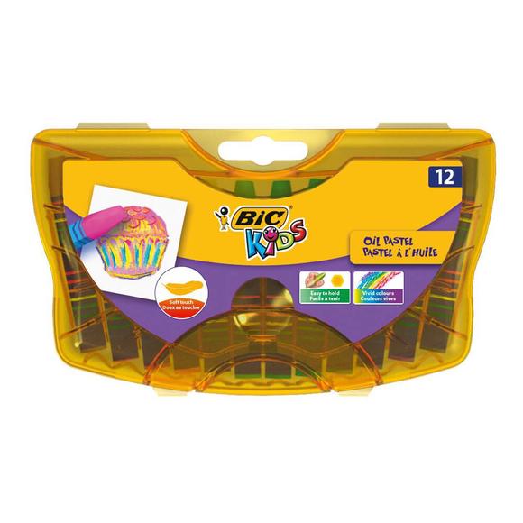 Bic Yağlı Pastel Boya 12 Renk 933957
