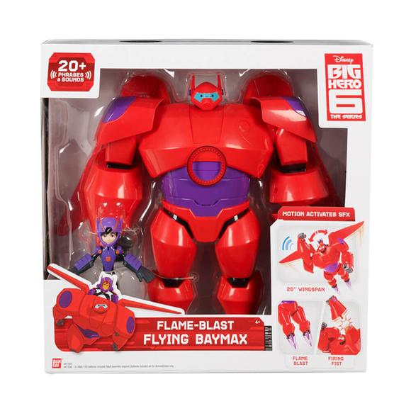 Big Hero 6 Süper Kahraman Ateş Çıkararak Uçan Baymax ve Hiro 41305