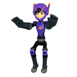 Big Hero 6 Süper Kahraman Ateş Çıkararak Uçan Baymax ve Hiro 41305 - Thumbnail