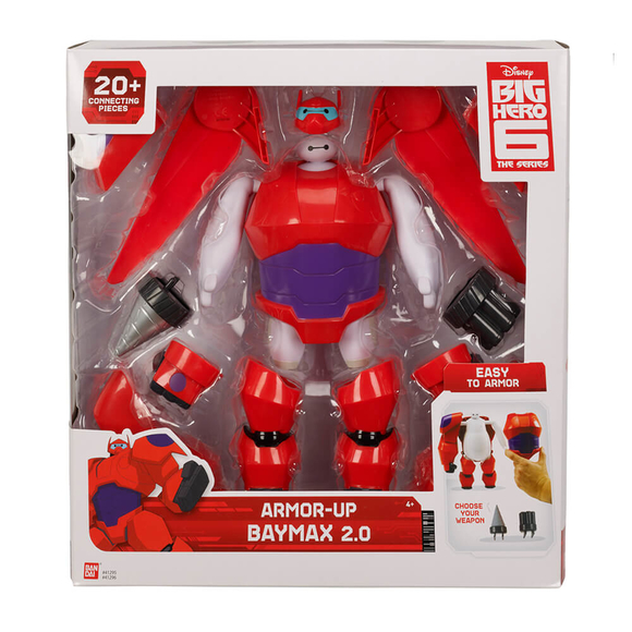 Big Hero 6 Süper Kahraman Zırhlı Baymax 41295