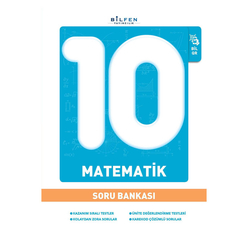 Bilfen 10. Sınıf Matematik Soru Bankası - Thumbnail