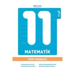 Bilfen 11. Sınıf Matematik Soru Bankası - Thumbnail
