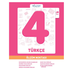 Bilfen 4. Sınıf Türkçe Ölçüm Noktası - Thumbnail