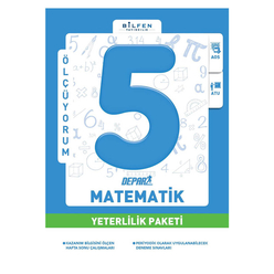 Bilfen 5. Sınıf Matematik Depar Yeterlilik Paketi - Thumbnail