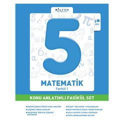 Bilfen 5. Sınıf Matematik Konu Anlatımlı Fasikül Set - Thumbnail