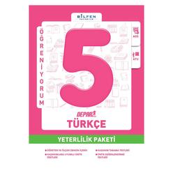 Bilfen 5. Sınıf Türkçe Depar Yeterlilik Paketi - Thumbnail