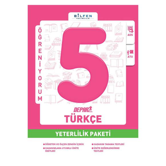 Bilfen 5. Sınıf Türkçe Depar Yeterlilik Paketi