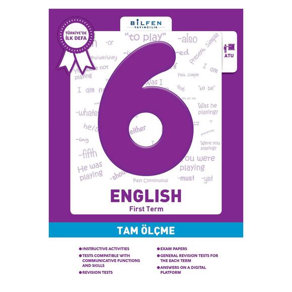 Bilfen 6. Sınıf İngilizce Tam Ölçme