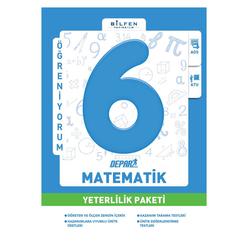 Bilfen 6. Sınıf Matematik Depar Yeterlilik Paketi - Thumbnail
