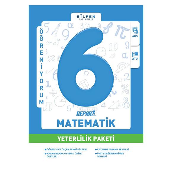Bilfen 6. Sınıf Matematik Depar Yeterlilik Paketi