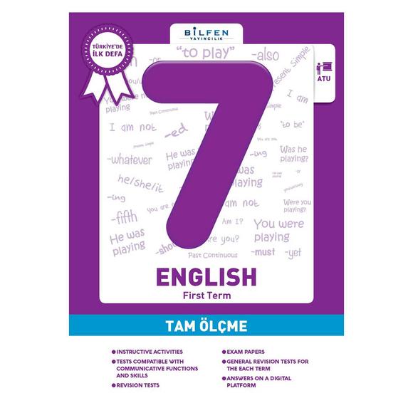 Bilfen 7. Sınıf İngilizce Tam Ölçme