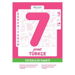 Bilfen 7. Sınıf Türkçe Depar Yeterlilik Paketi - Thumbnail