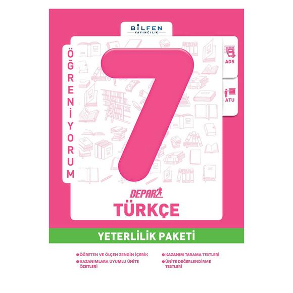 Bilfen 7. Sınıf Türkçe Depar Yeterlilik Paketi
