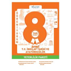 Bilfen 8. Sınıf Tc Inkılap Tarihi ve Atatürkçülük Depar Yeterlilik Paketi - Thumbnail