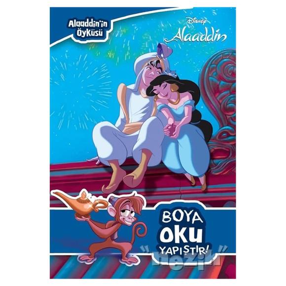Boya Oku Yapıştır - Disney Alaaddin