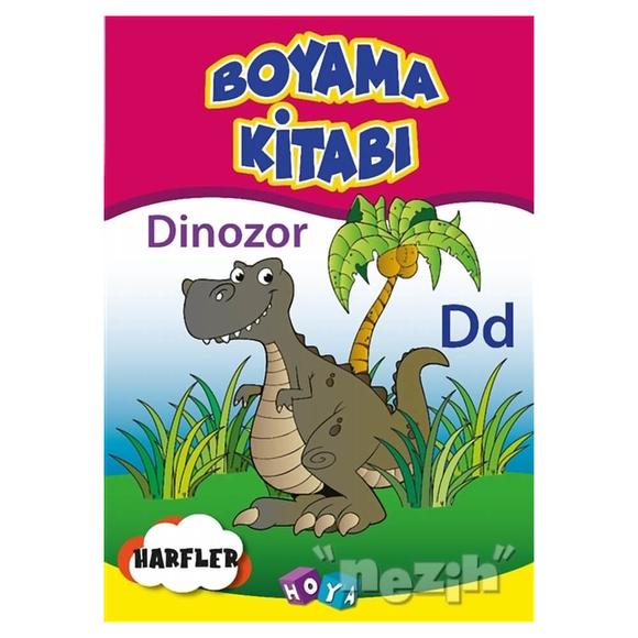 Boyama Kitabı Dinozor Harfler