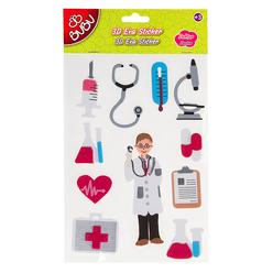 Bu Bu 3d Eva Sticker Meslekler Doktor St0046 Nezih