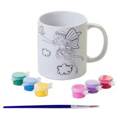 Bu-Bu Porselen Boyama Kupa Kelebek PB0003 - Thumbnail