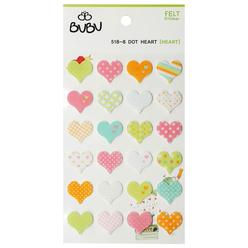 Bu-Bu Sticker Desenli Kalpler LS0021 - Thumbnail