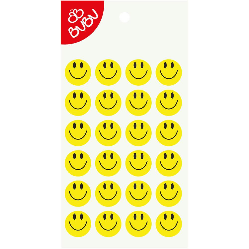 Bu Bu Sticker Gulen Yuz 2 Cm Ls0044 Nezih
