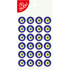 Bu-Bu Sticker Nazar Boncuğu 2 Cm LS0041 - Thumbnail