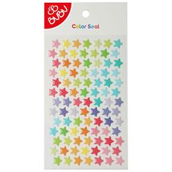 Bu-Bu Sticker Renkli Yıldızlar Küçük LS0014 - Thumbnail