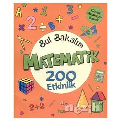 Bul Bakalım Matematik 200 Etkinlik - Thumbnail